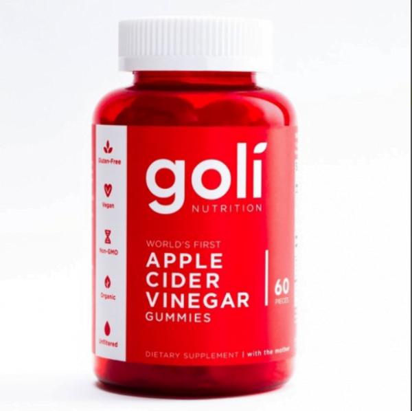 Goli Apple Cider Vinegar Gummies, 60 Ct